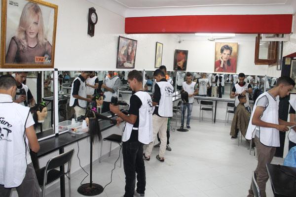 Groupe d 39 ecoles el houria - Salon d esthetique pour homme ...